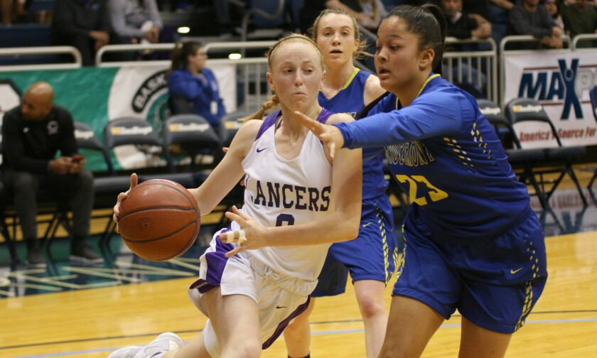 Sophomore point guard Alexa Mikeska is an offensive catalyst for Carlsbad.