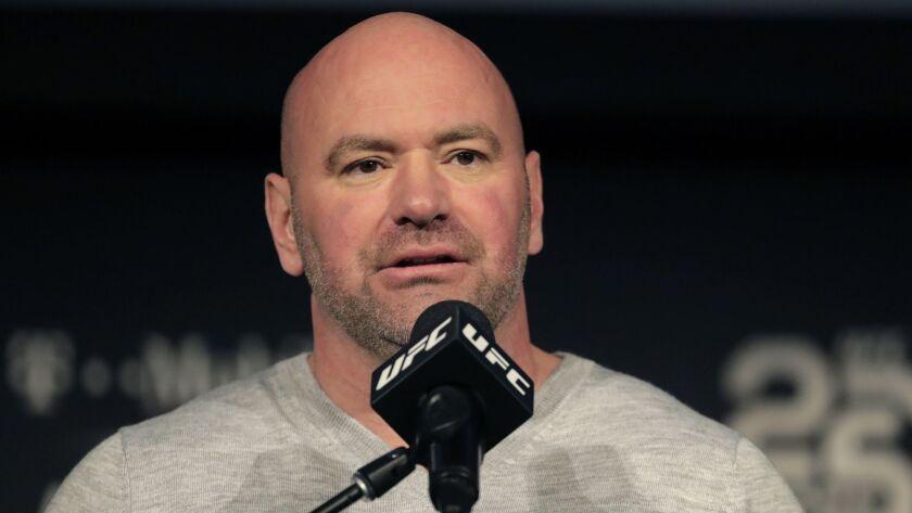 Dana White, UFC president.