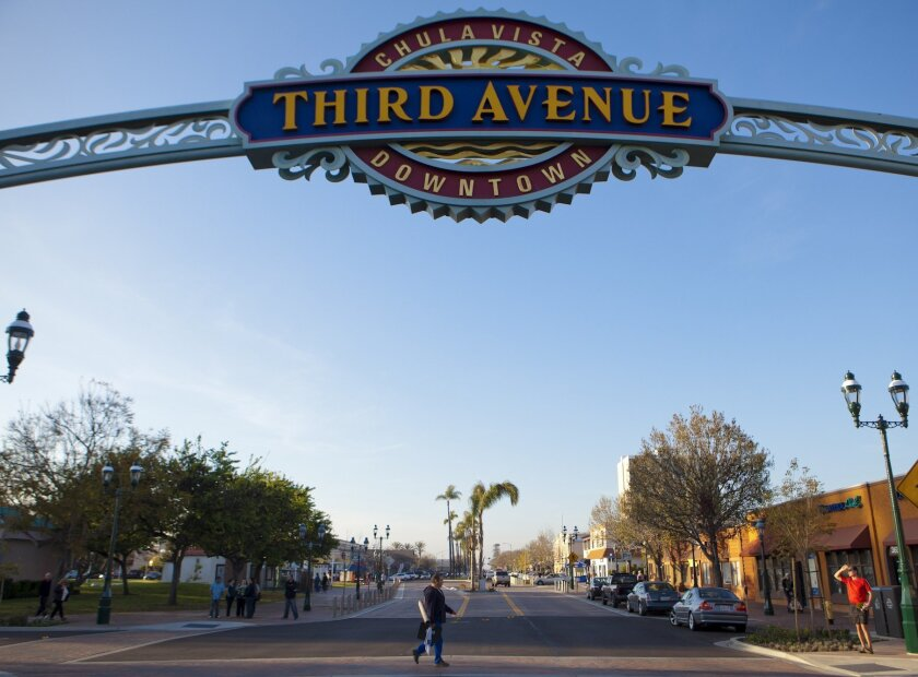 La ciudad de Chula Vista, California.