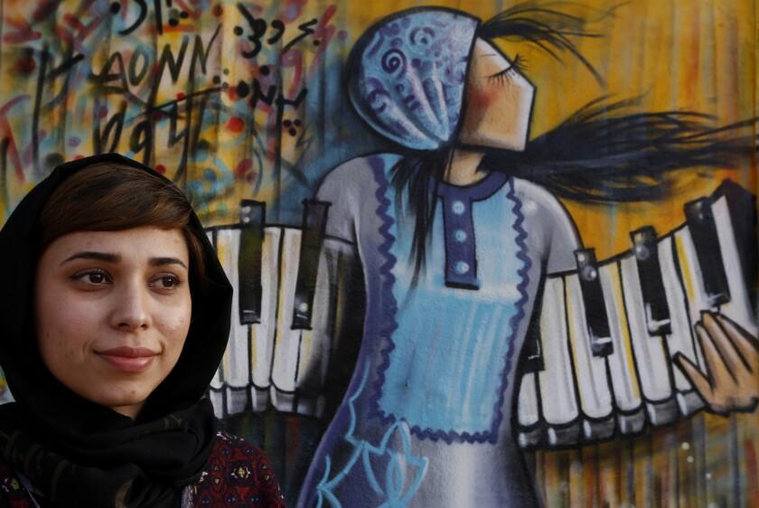 Shamsia Hassani, Afghan street artist