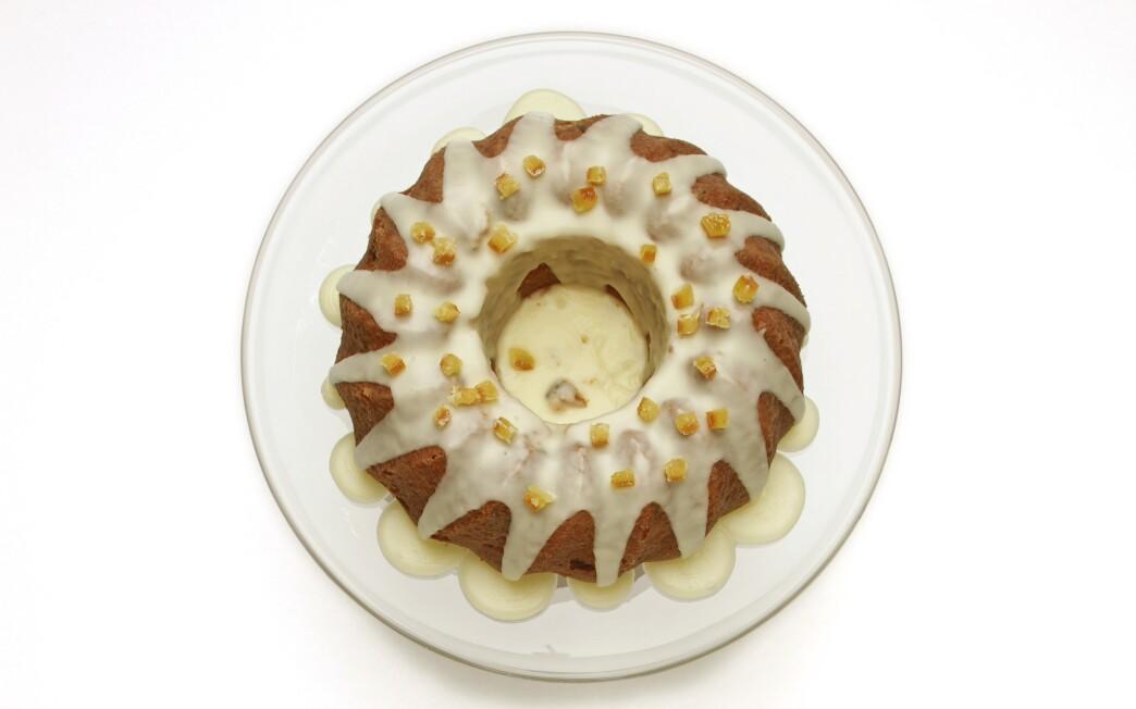 Norwegian orange cake