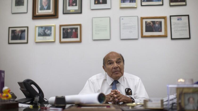 Gonzalez in his office