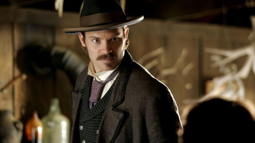 "Timothy Olyphant in ""Deadwood."""