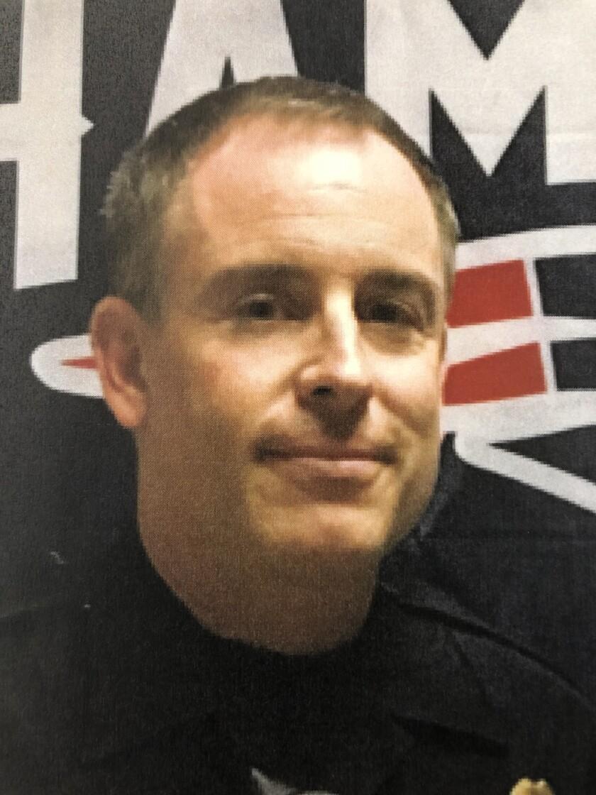 San Diego police Sgt. Joseph Ruvido