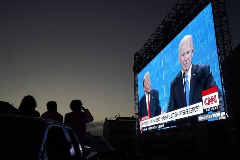 Debate EEUU: Breve atisbo de normalidad en campaña electoral
