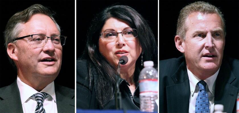 Sagal, Puglia, Jeffries win board seats