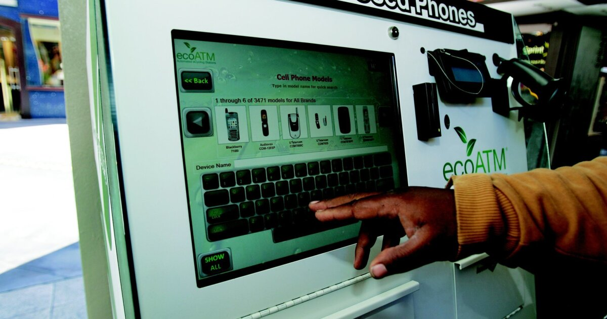 EcoATM acquired for $350M in cash - The San Diego Union-Tribune