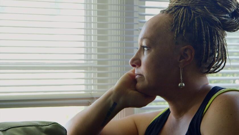"Rachel Dolezal in the documentary ""The Rachel Divide."""
