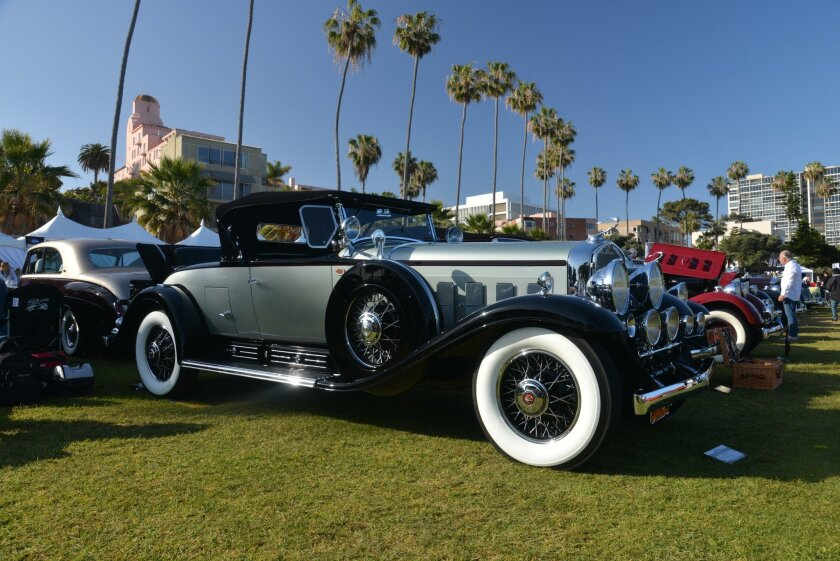 One of the hundreds of beauties on display in the 2016 La Jolla Councours d'Elegance.