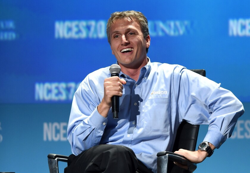 Lyndon Rive is chief executive officer of SolarCity.