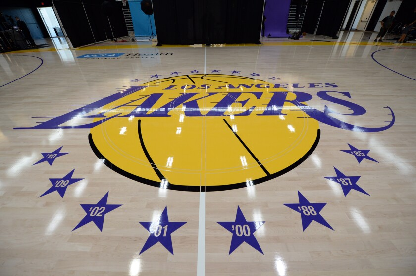 The Lakers unveiled their El Segundo training facility on Sept. 25, 2017.
