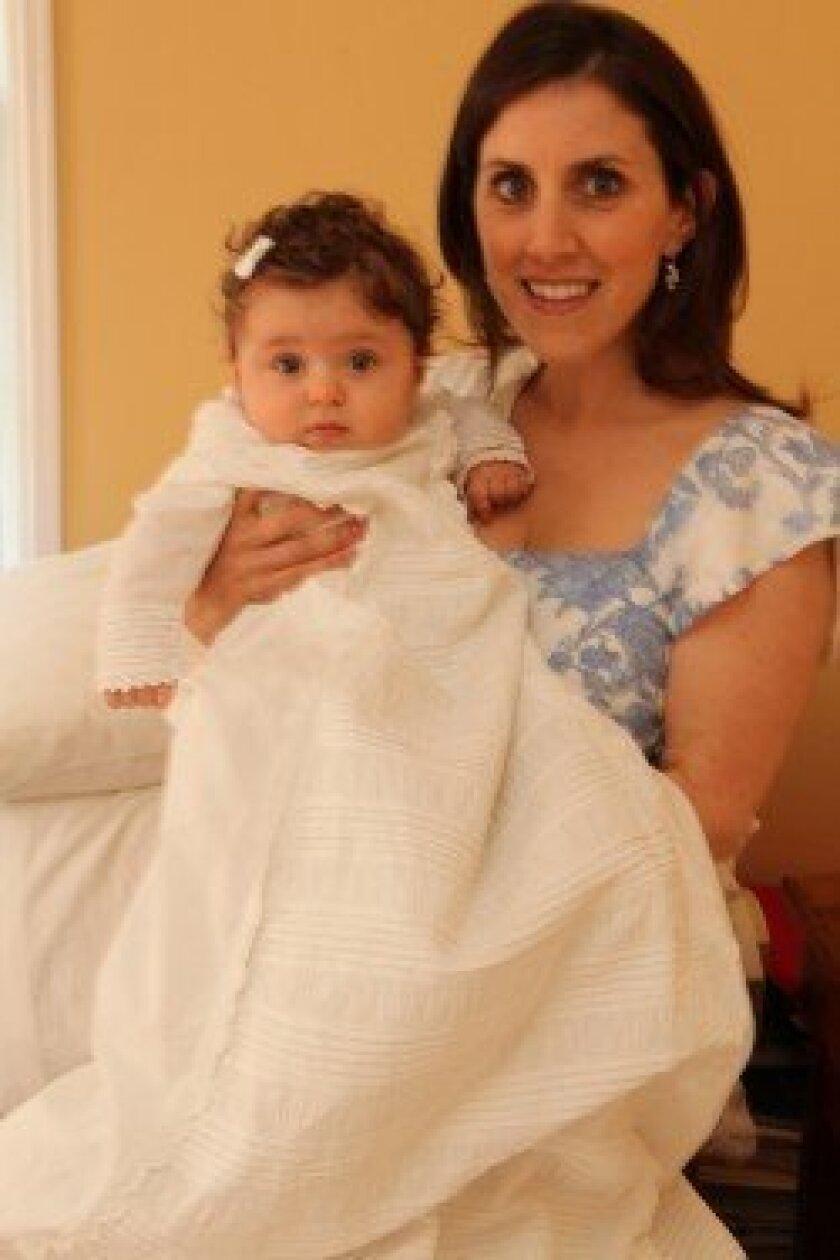 Mia Genevieve Martin with mother Jaime
