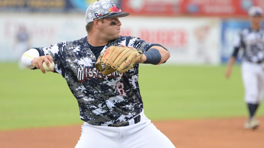 Padres infield prospect Ty France was promoted to Double-A San Antonio in 2017 and was added to the