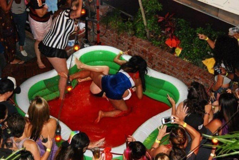 Women's Jell-O Wrestling at Bourbon St. Bar & Grill -- courtesy photo