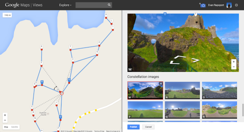 Create your own virtual Street View tours with Google's new ... on google calendars, google sites, google training, google clip art, google articles, google flights, google social media, google maps, map tools, google sun, mind-mapping tools, google search engines, google spreadsheets,