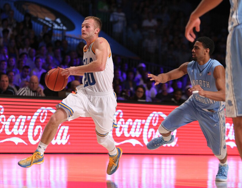 No. 22 UCLA guard Bryce Alford finished with 10 points and three assists, but turned the ball over six times in the Bruins' 78-56 loss to No. 5 North Carolina at the Battle 4 Atlantis.