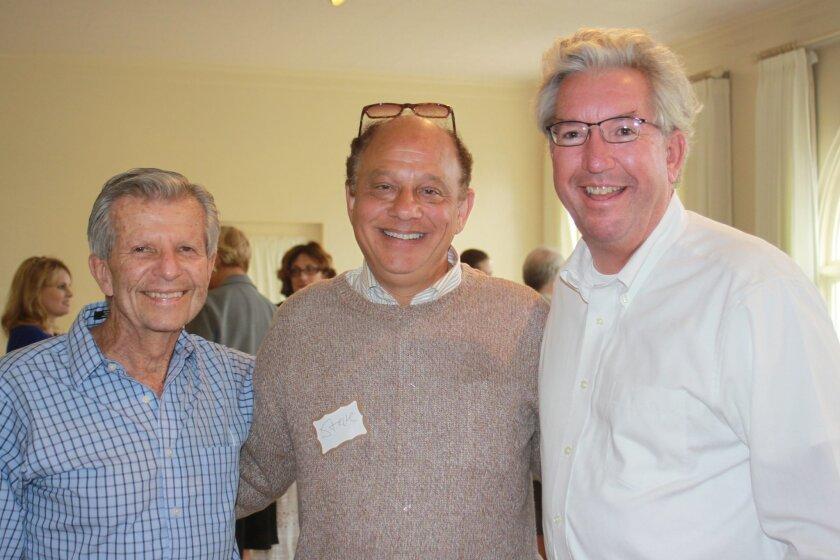 Budd Rubin, Steve Liss and Ed Mracek represent some of the men who attended.
