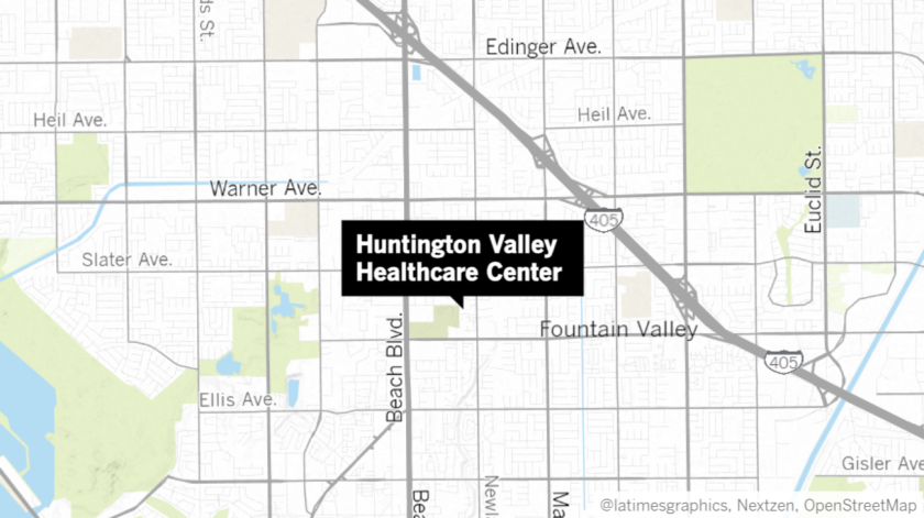 A coronavirus outbreak at Huntington Valley Healthcare Center has sickened dozens of residents and staff.