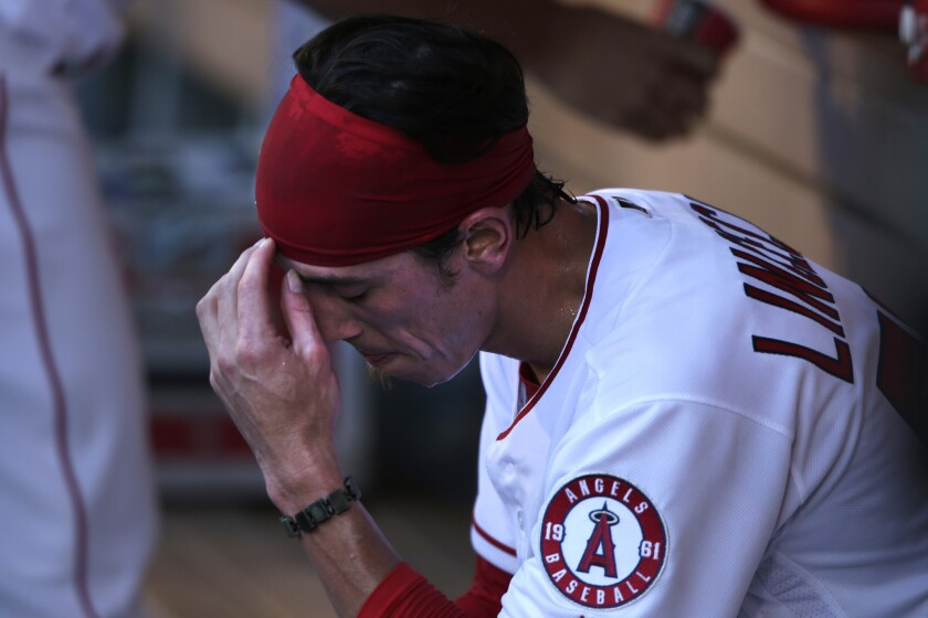 Tim Lincecum has another short outing in Angels' 7-1 loss