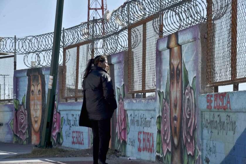 Border wall Juarez