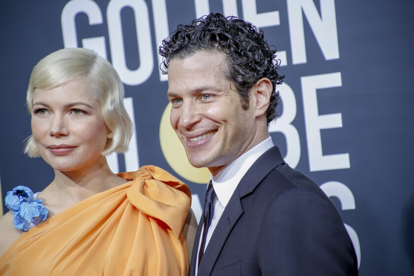 Michelle Williams, left, and Thomas Kail