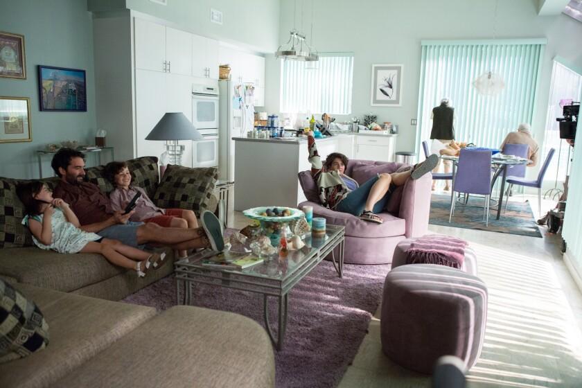 Shelly's condo in Marina del Rey.