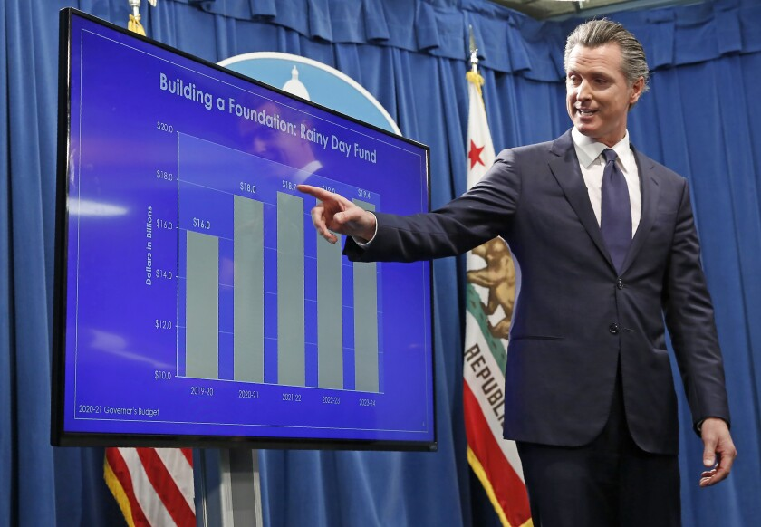 Virus Outbreak California Budget