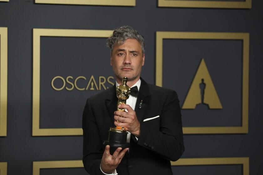 "Taika Waititi, winner of the adapted screenplay Oscar for ""Jojo Rabbit,"" honored ancestral lands."