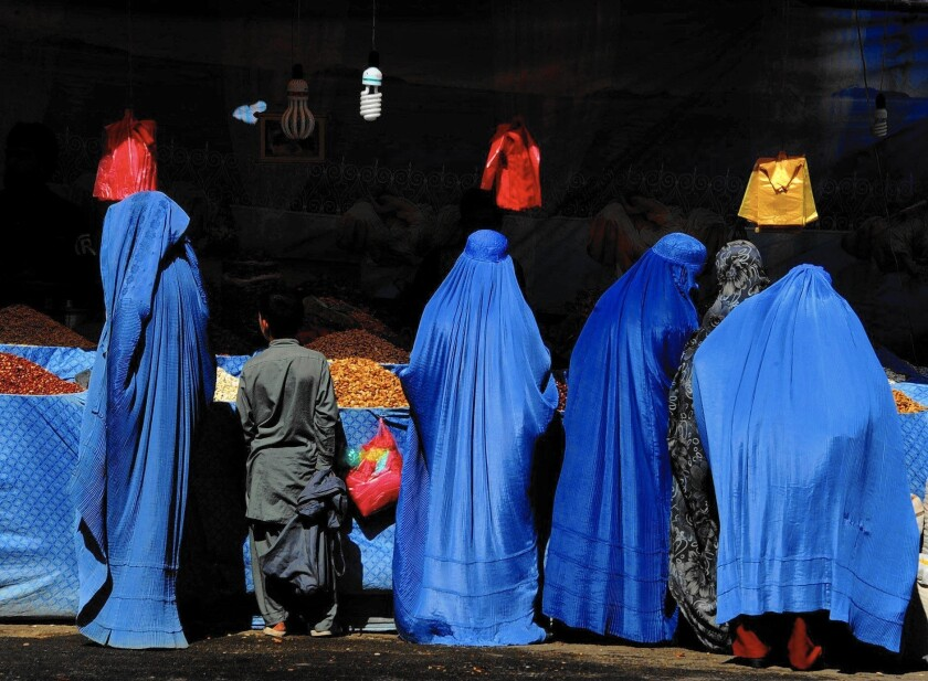 Afghan women in Herat
