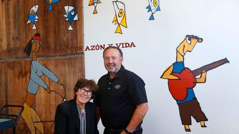 The whimsical decor at Libertad reflects the adventurous spirit of the not-for-profit restaurant in Hillcrest. To capture that, owners Lesley and David Cohn tapped long-time collaborator Philippe Beltran.