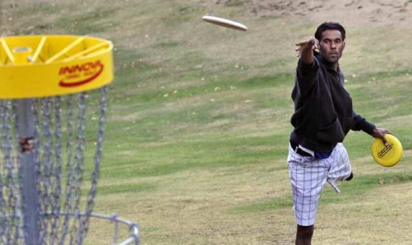 Fore! Disc golf comes to DeBell