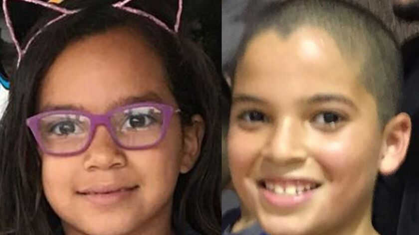 HAND OUT PHOTO - Isabella Lopez (left) and Cristos Lopez (right). The two children died after being