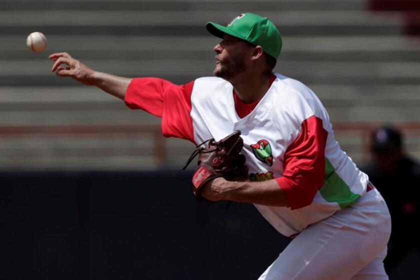 En la imagen, el tirador diestro cubano Lázaro Blanco. EFE/Archivo
