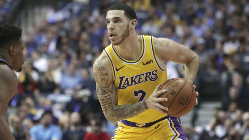 Lonzo Ball has missed seven weeks because of a severe ankle sprain, and there's a chance he might not return to the Lakers before the end of the season.