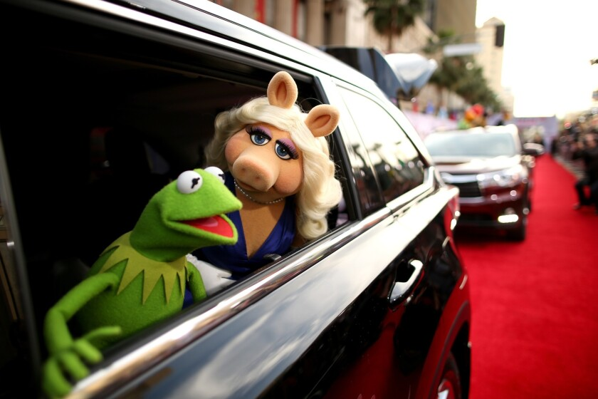 """""""Muppets Most Wanted"""" red carpet"""
