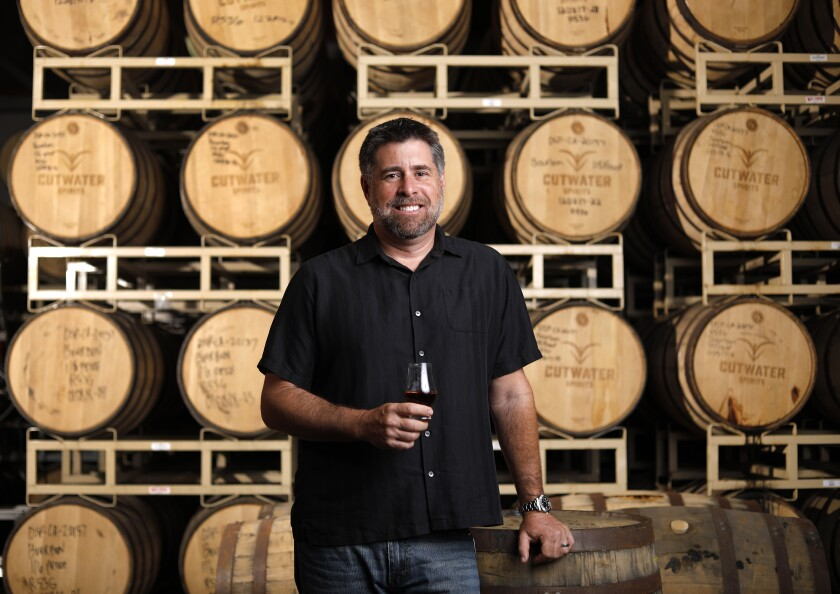 Yuseff Cherney, Cutwater Spirits's founder and former Ballast Point head brewer.