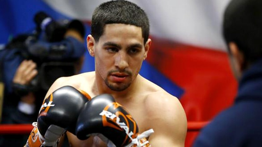 Danny Garcia plans to prove himself in WBC bout against Robert Guerrero