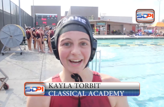 Girls water polo: Classical Academy vs Escondido