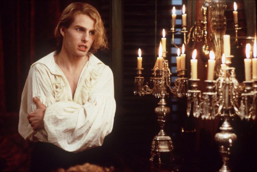 Tom Cruise as vampire Lestat