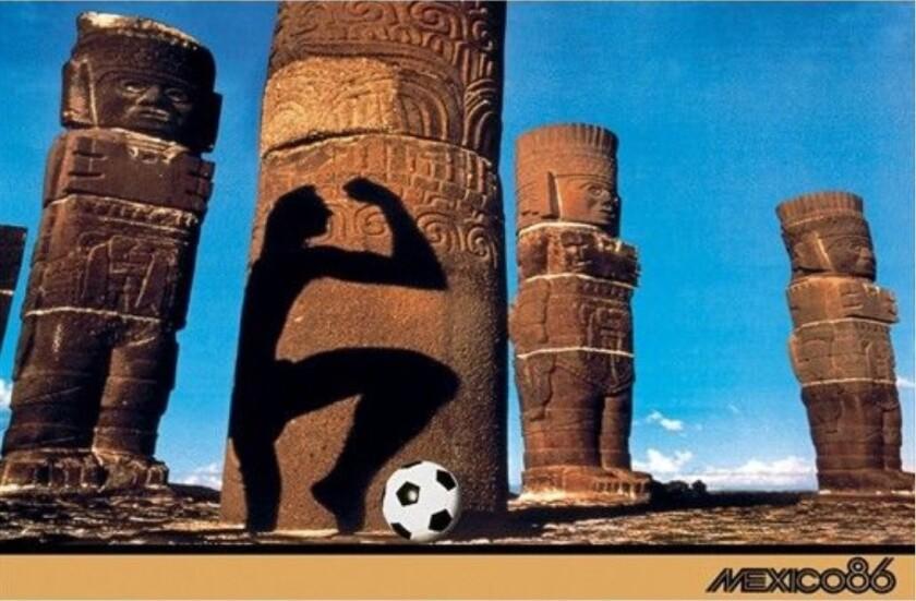 Poster Mexico 1986