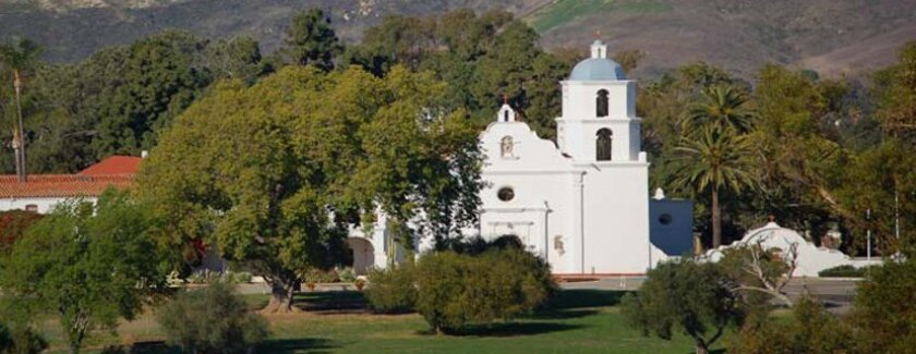 Mission San Luis Rey. Courtesy of the mission
