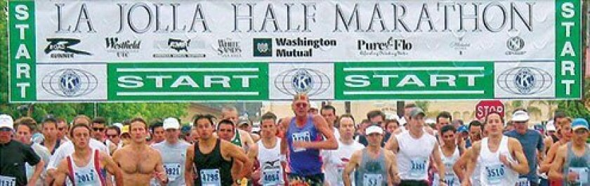The La Jolla Half Marathon and and La Jolla Shores 5K takes place on Sunday, April 28, 2013. Courtesy Photo