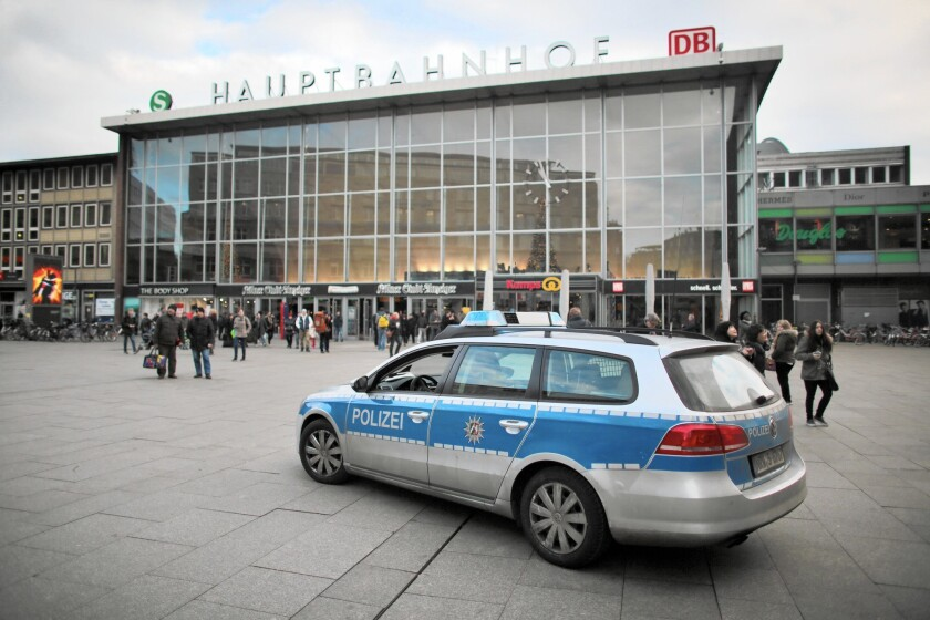 A group of women was surrounded and attacked by men on New Year's Eve outside the central railway station in Cologne, Germany. Cologne police said many of the attackers appeared to be originally from other countries, including Tunisia, Morocco and Algeria, based on interviews with victims.