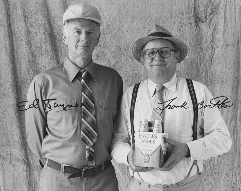 Dick Maugg dies at 83; was silent, stoned-faced Bartles & Jaymes pitchman