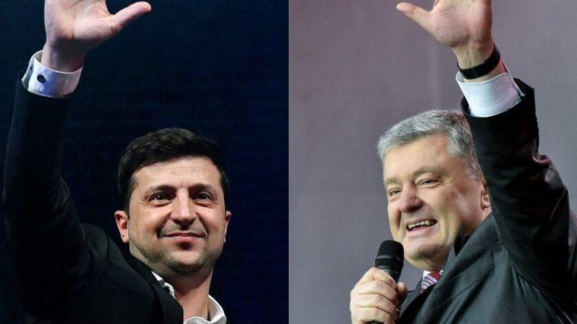 COMBO-FILES-UKRAINE-POLITICS-ELECTION-CANDIDATE-DEBATE