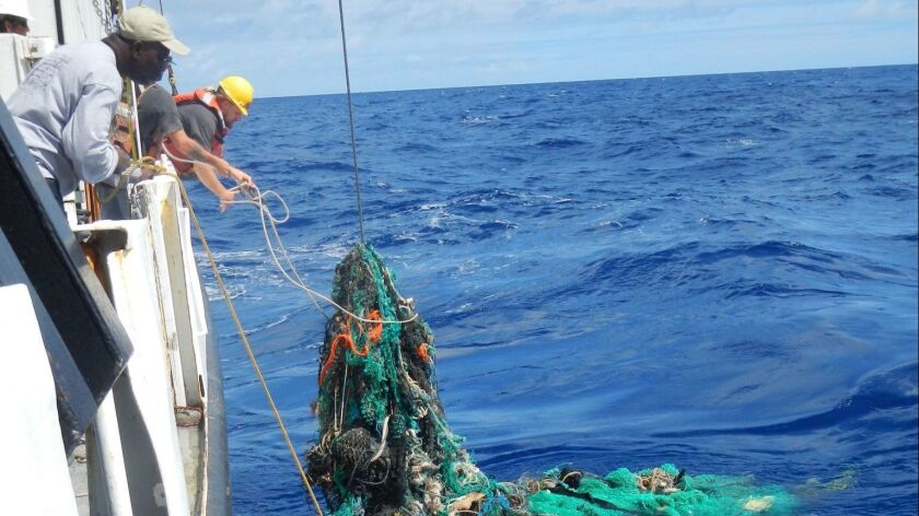 Great Pacific Garbage Patch found to have sixteen times more plastic than previously estimated, At Sea, --- - 23 Mar 2018