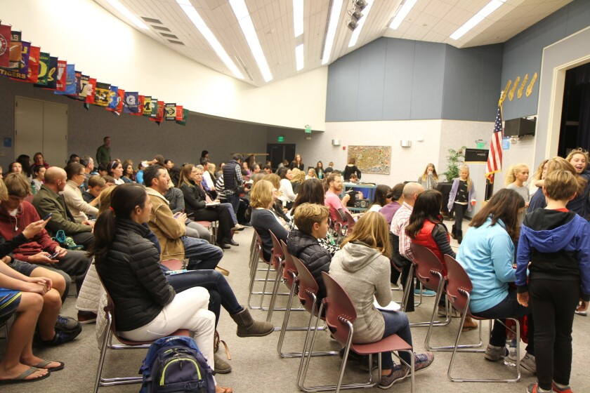 About 100 people attended the Dec. 15 screening.