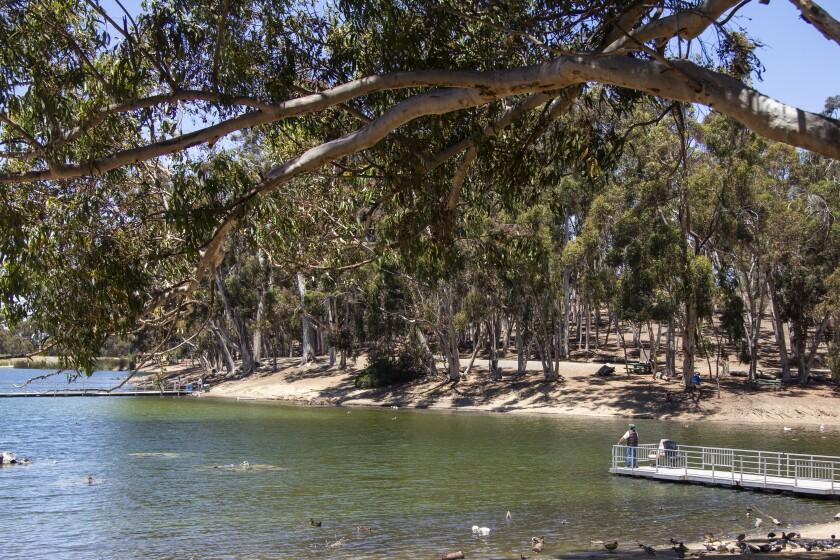 Parque del Lago Chollas, un ejemplo de lo que podría ser el proyectado Parque Regional de Chollas Creek.