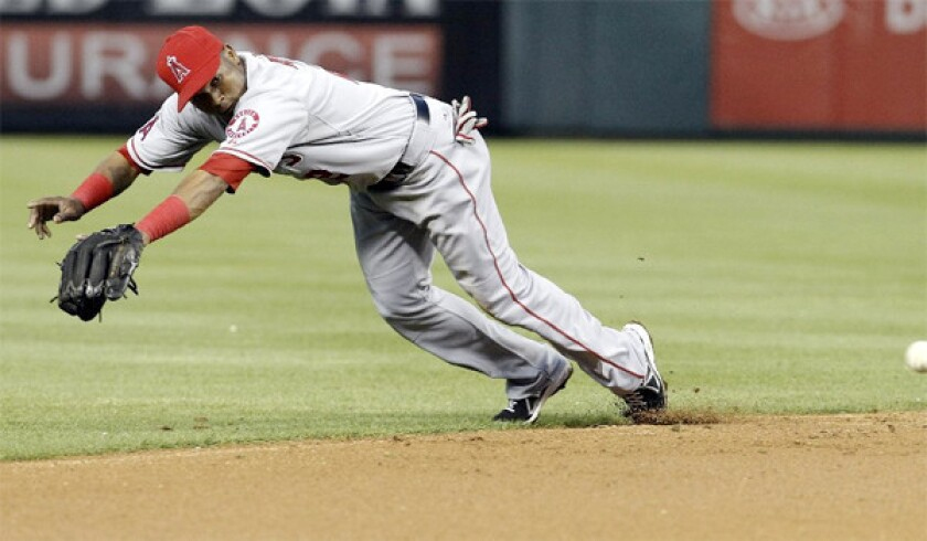 Angels shortstop Erick Aybar appears headed for disabled list