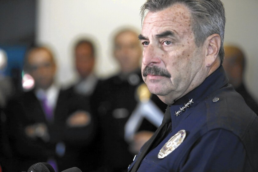 LAPD Chief Charlie Beck defends his recommendation for criminal charges in police shooting
